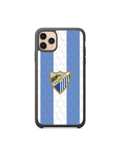Funda Móvil Logo Azul Blanca
